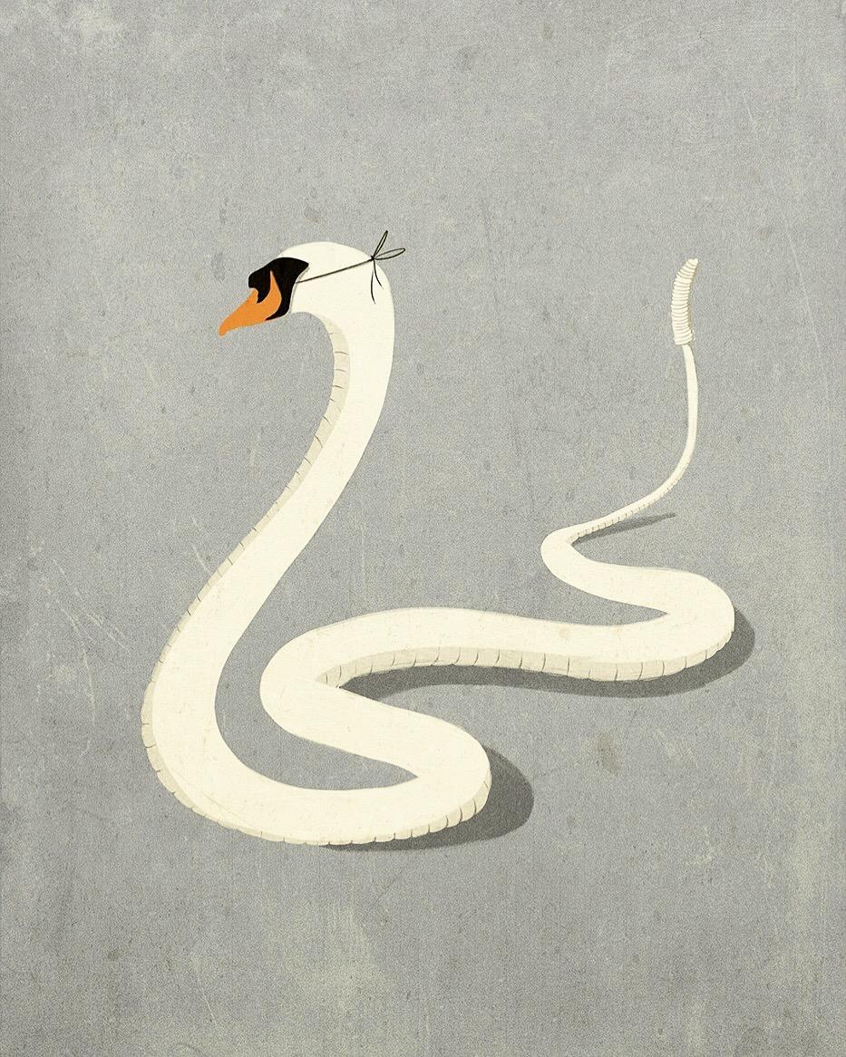 Концептуальные иллюстрации Андреа Ucini