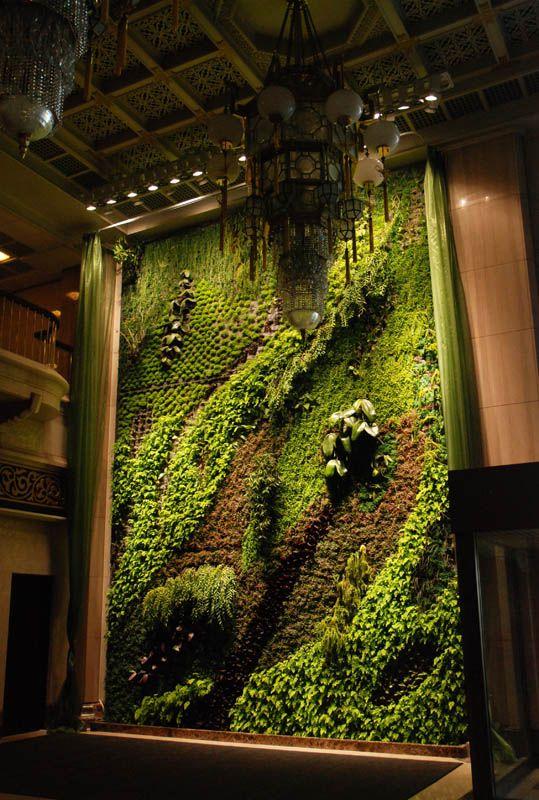 Вертикальные сады Патрика Блана