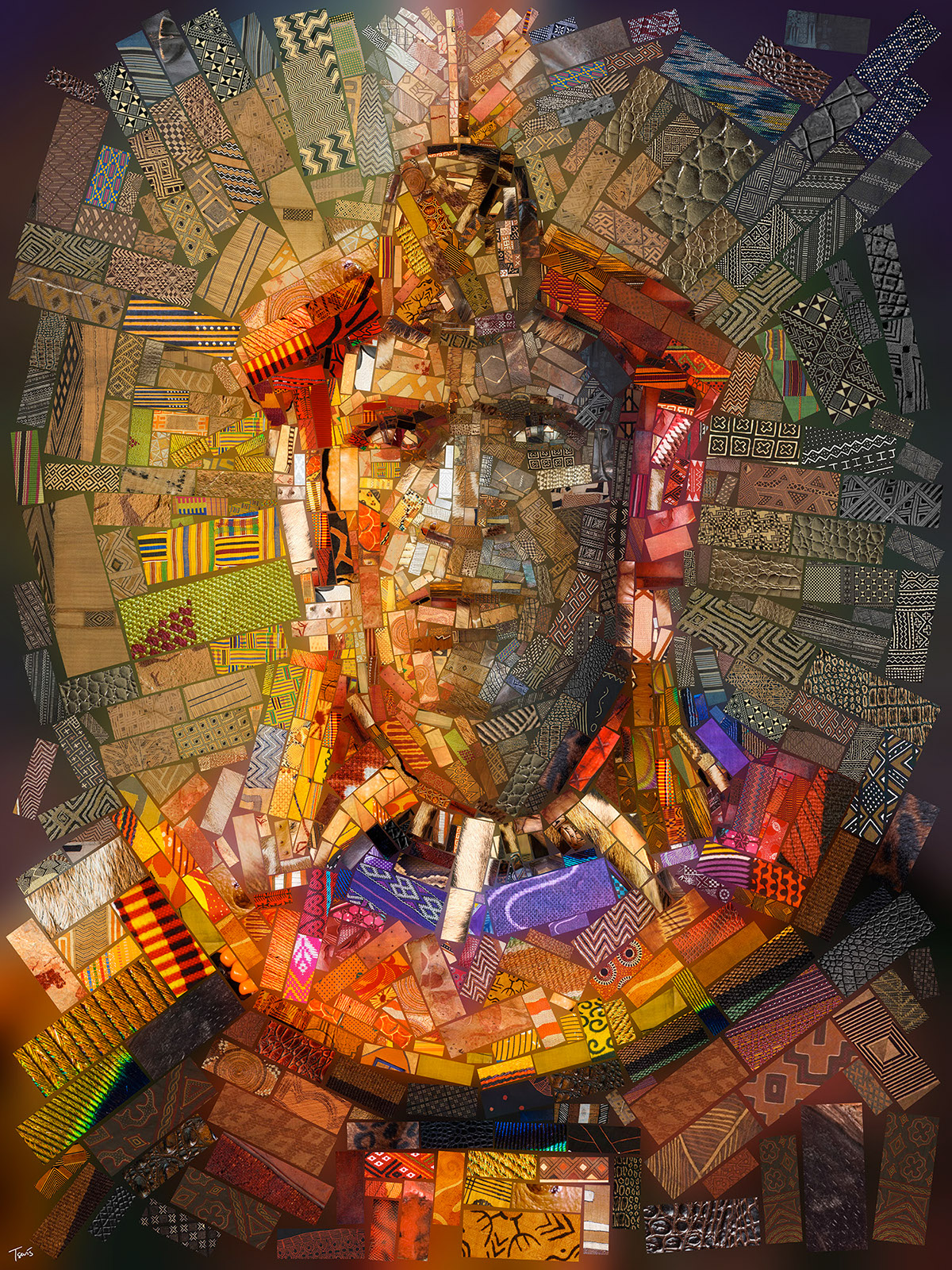 Splendid Mosaic Illustrations by Charis Tsevis