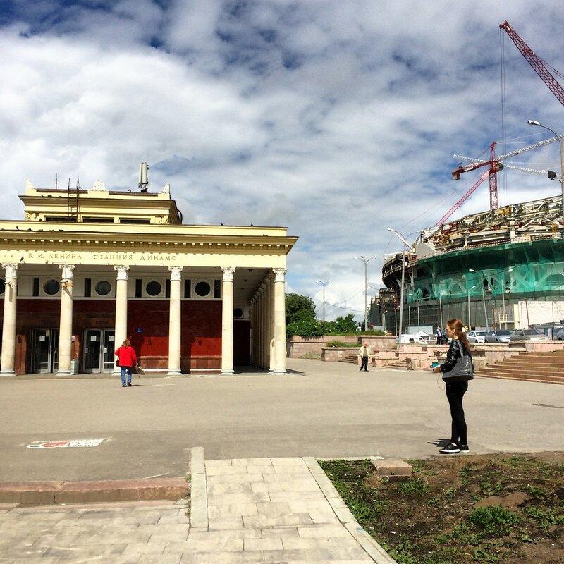 "Реставрация барельефов Меркулова на стадионе ""Динамо"""