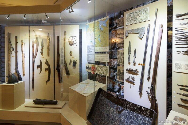 Русское оружие XVI-XVII веков, Национальный музей Республики Карелия, Петрозаводск