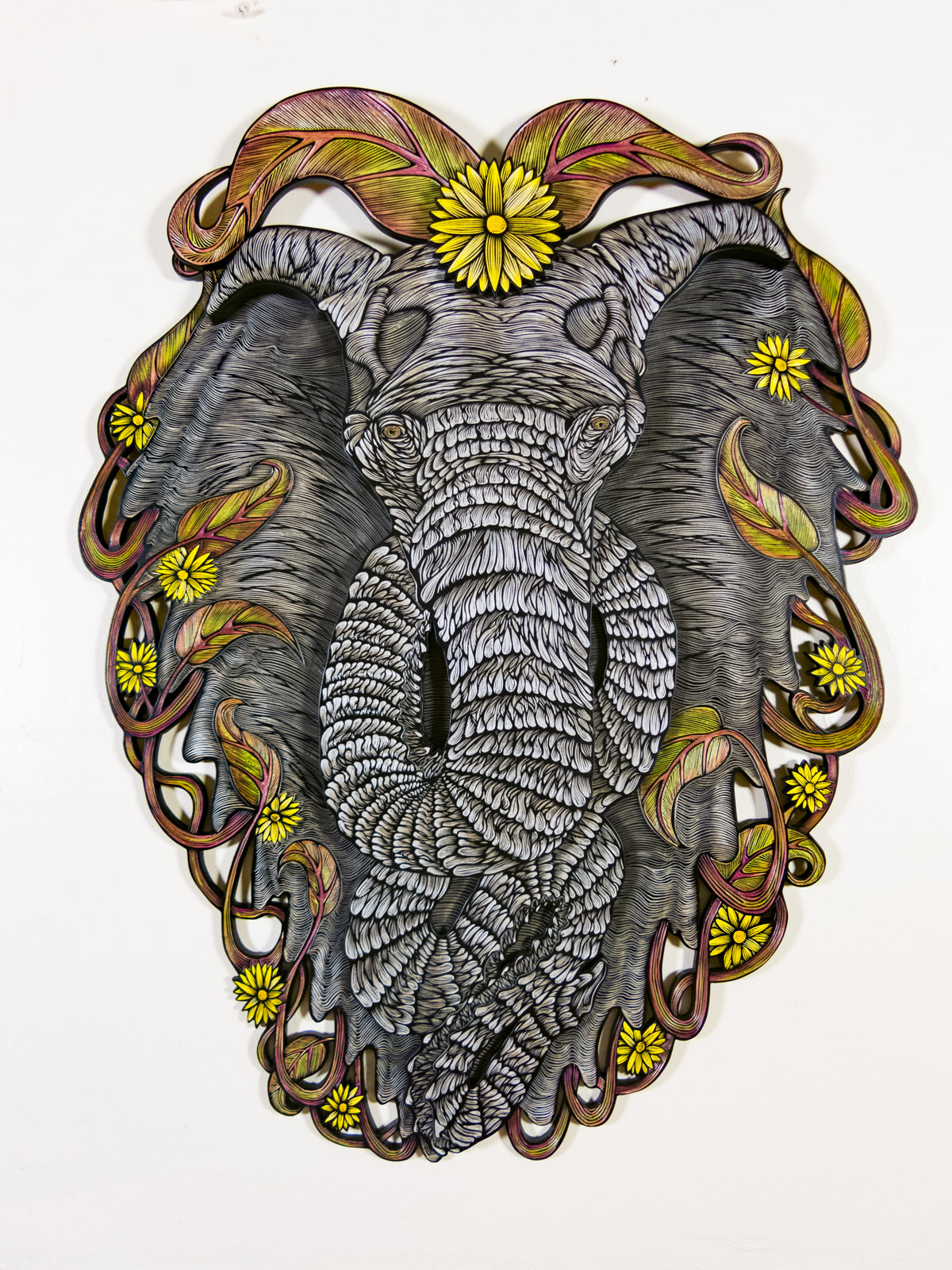 Awesome Wood Carvings by Dennis McNett