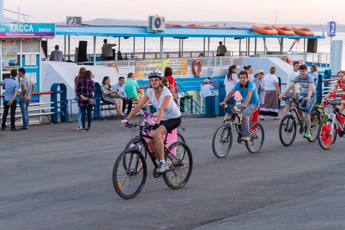 велопарад Леди на велосипеде фото 7