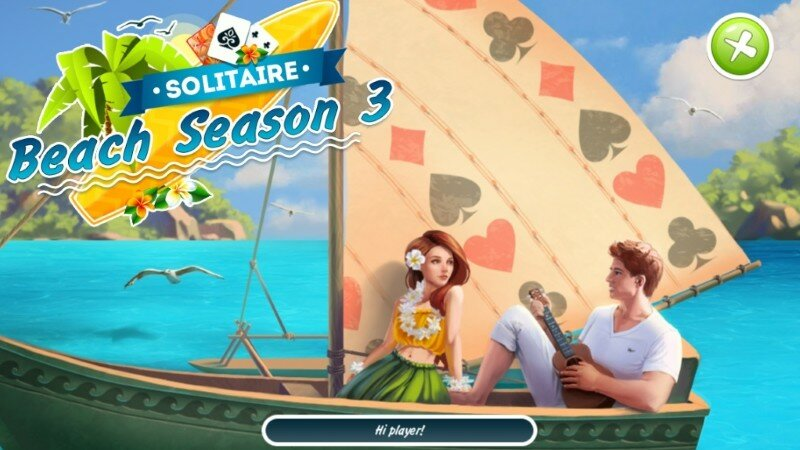 Solitaire: Beach Season 3