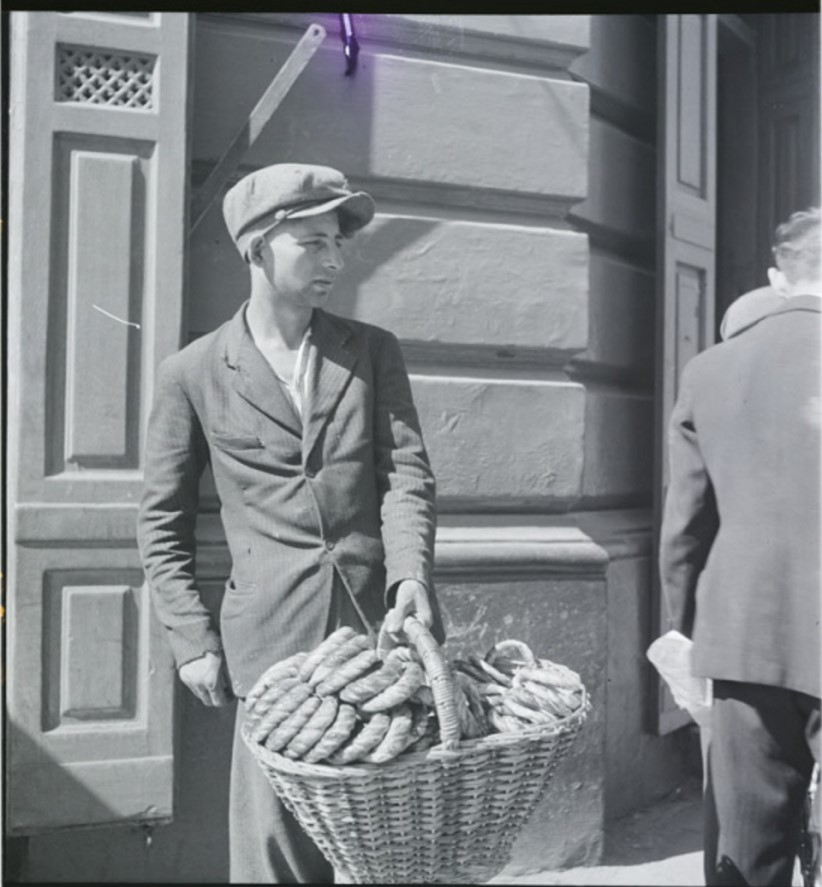 Молодой торговец