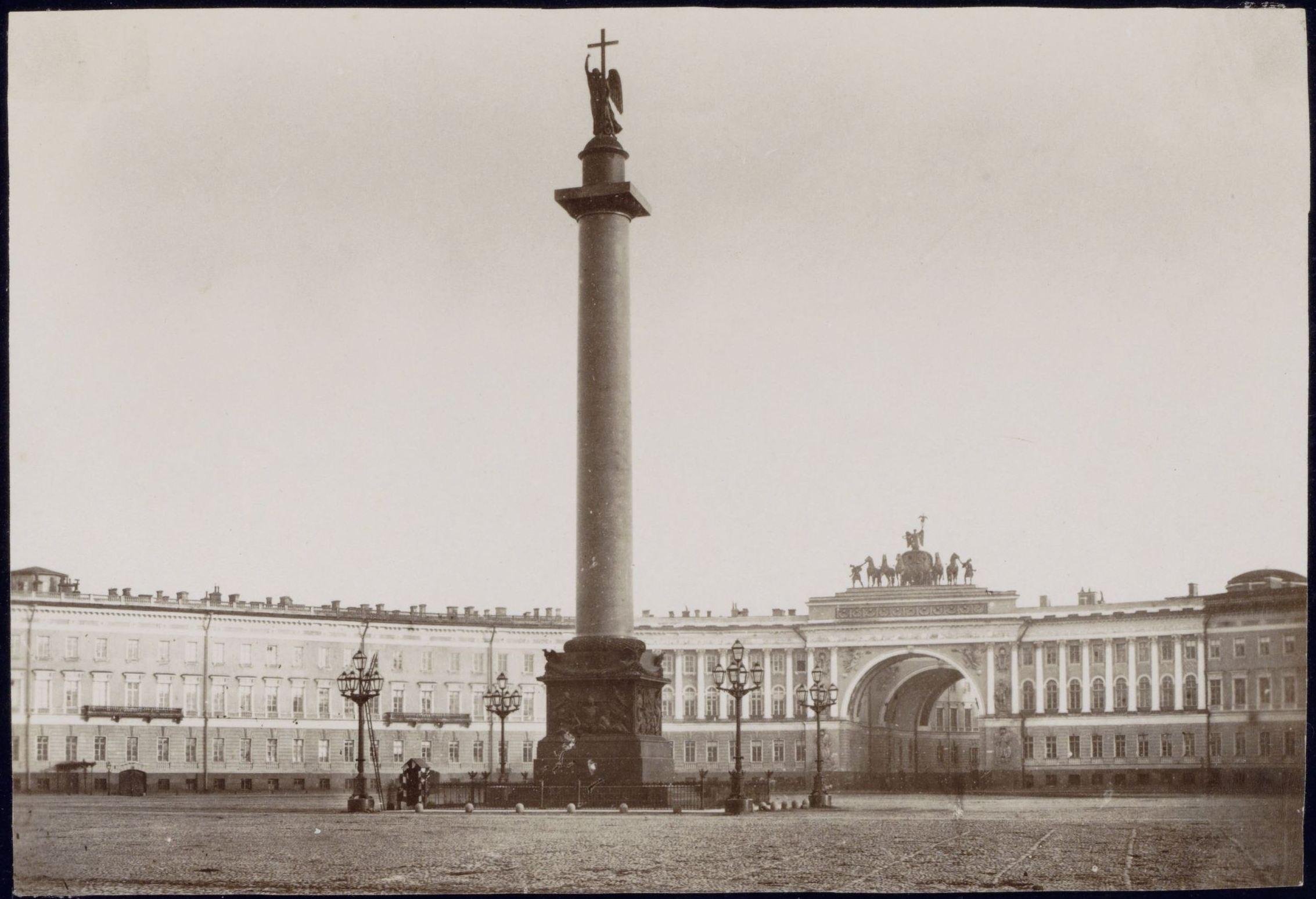 1863. Дворцовая площадь и здание Главного штаба
