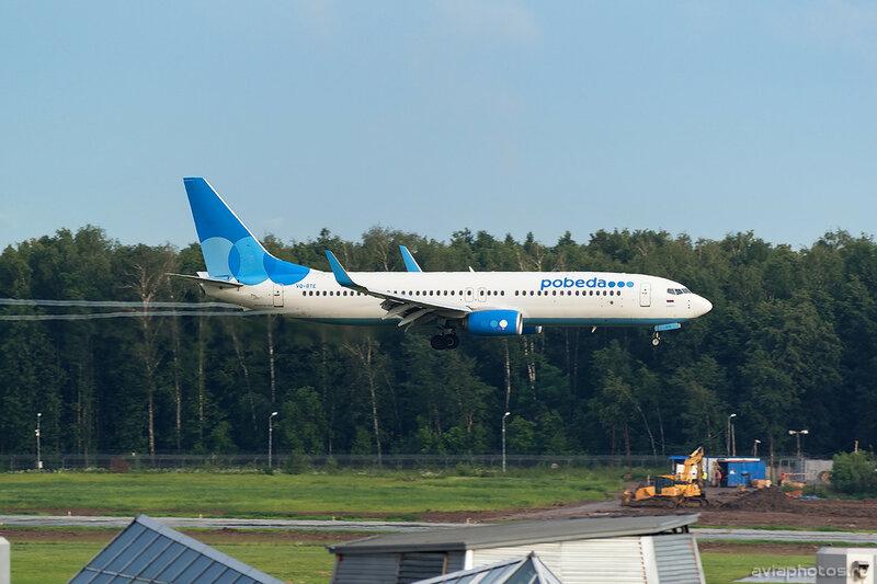 Boeing 737-81D (VQ-BTE) Победа 281_D801878