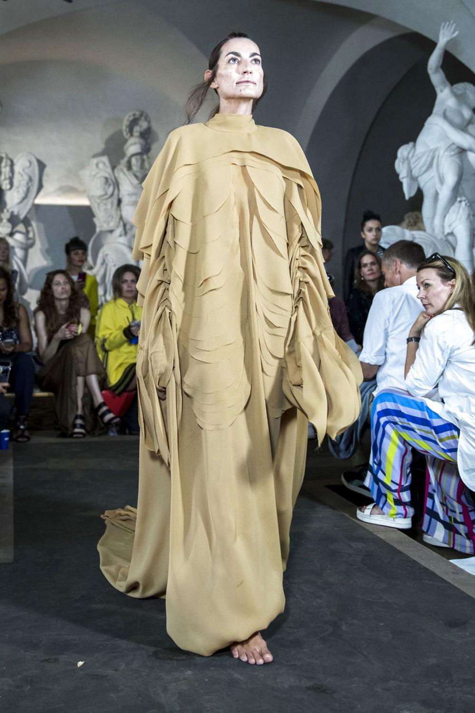 Датский дизайнер представил коллекцию на Неделе моды в Копенгагене