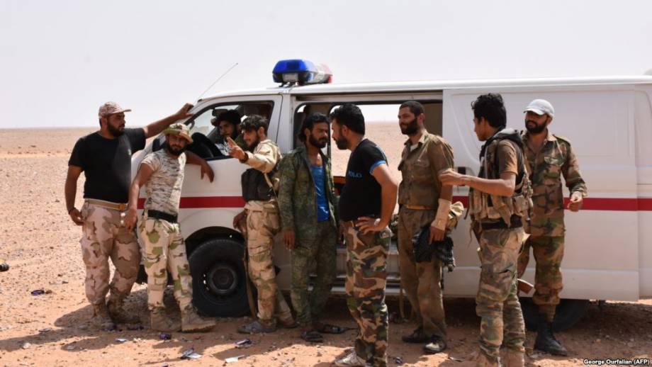 Поддерживаемые США силы наступают на боевиков группировки «Исламское государство» на востоке Сирии