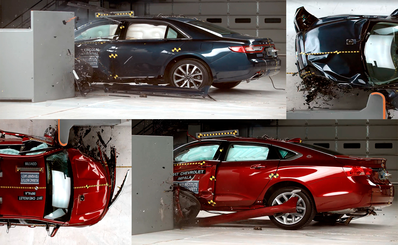 2017 Chevrolet Impala & Lincoln Continental Crash Test