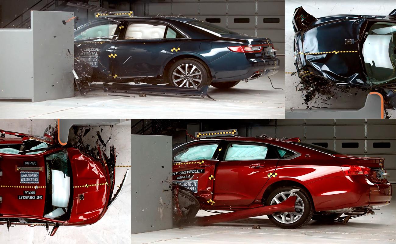 2017 Chevrolet Impala & Lincoln Continental Crash Test