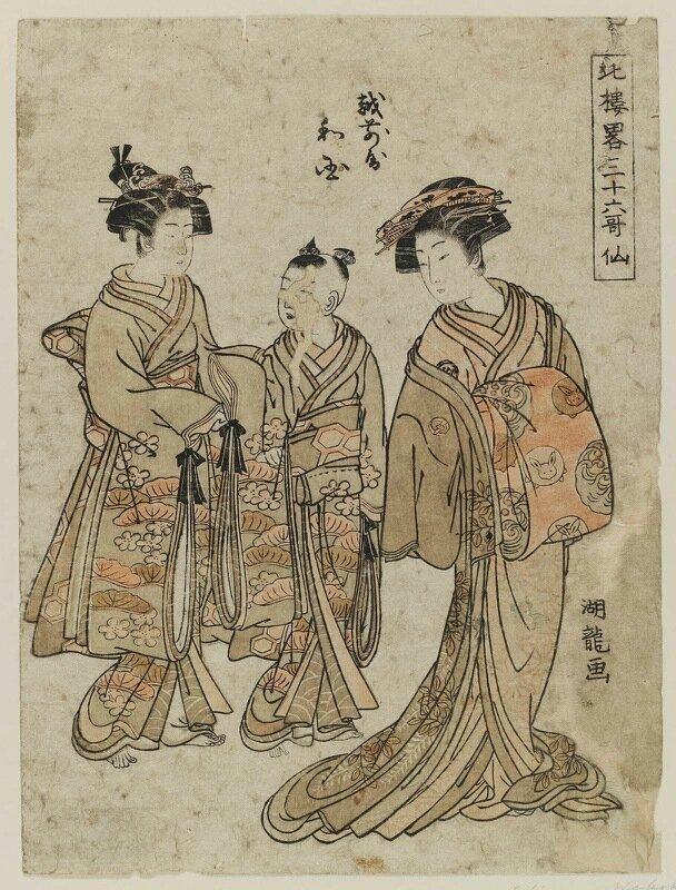 Исода Корюсай (японский художник, 1735-1790)