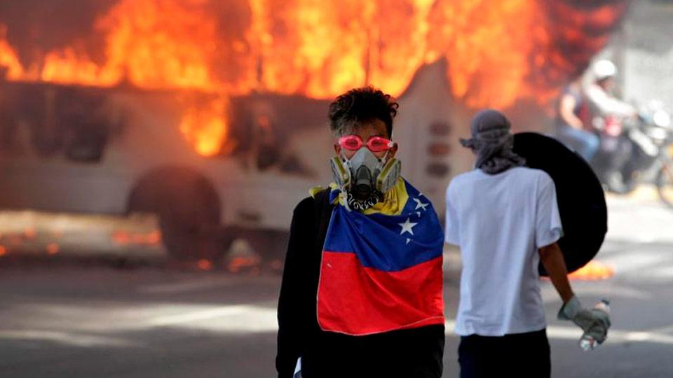 Угонщик вертолета вВенесуэле мог быть связан сЦРУ