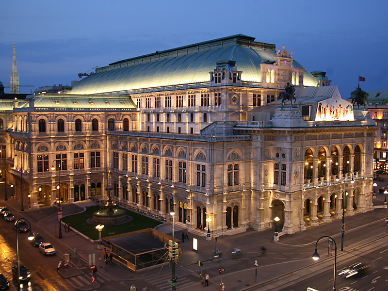 Прогулка по вечерней Вене с экскурсоводом