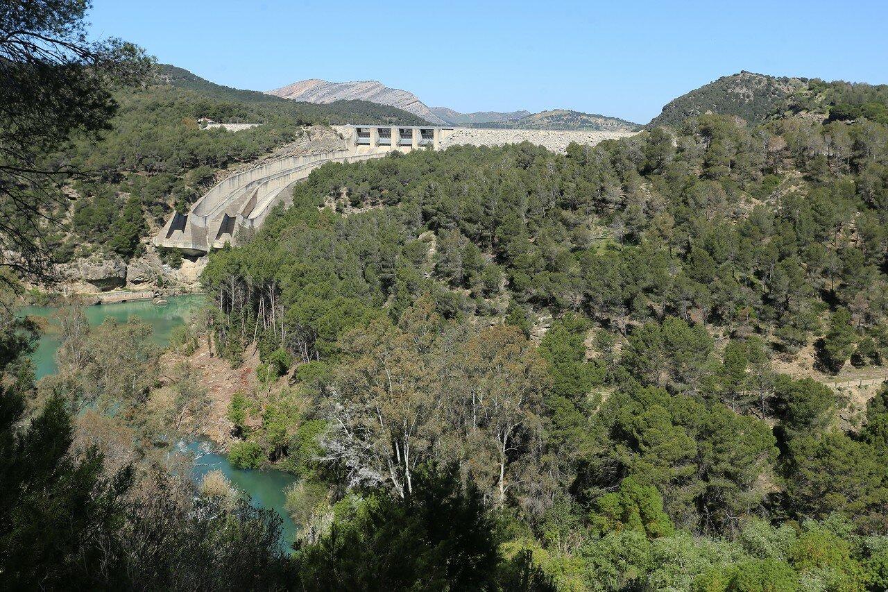 Эль Чорро. Плотина Гуадалтеба (Presa del Guadalteba)