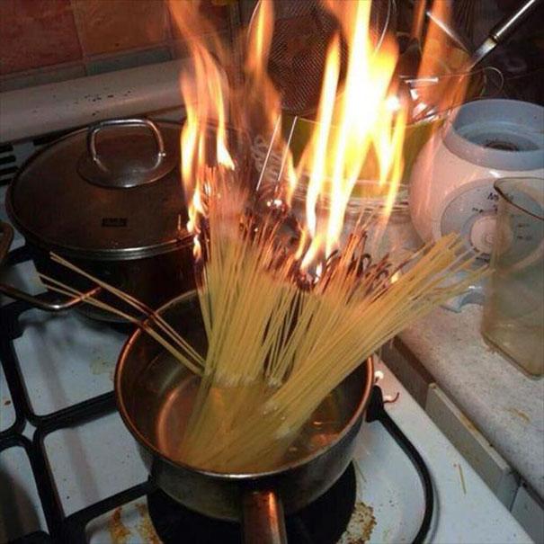 «Вот почему я не готовлю».