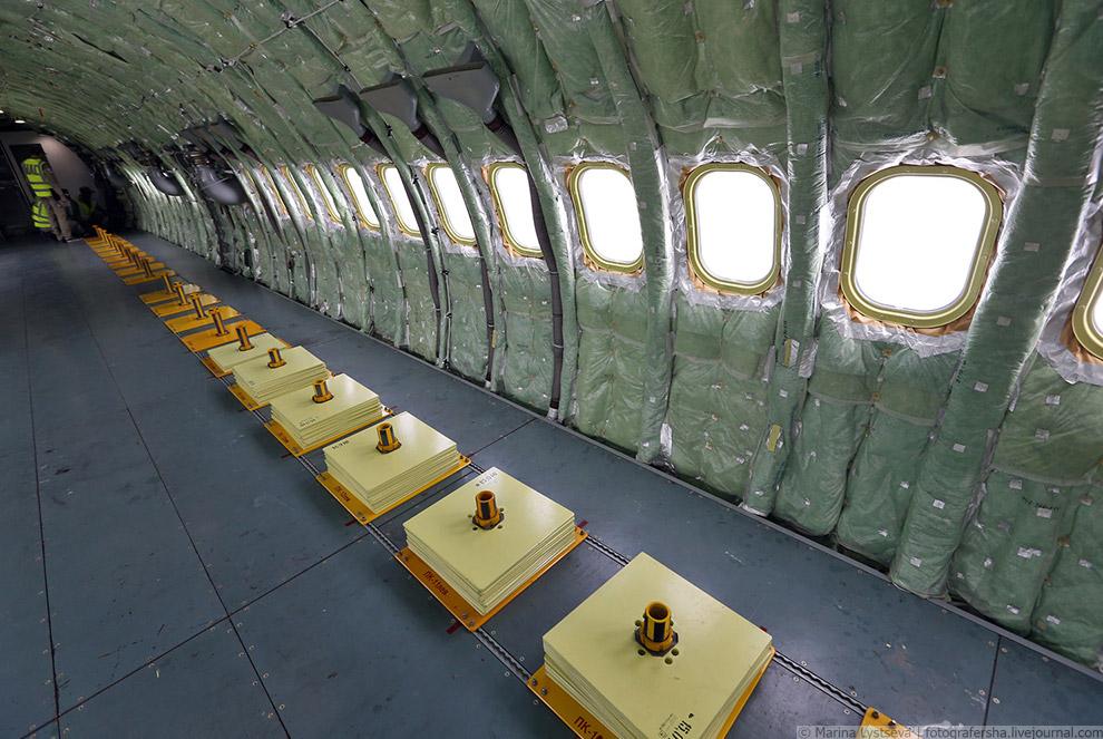 35. Для пилотов самолетов МС-21 разработана инновационная эргономичная кабина.