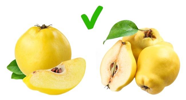 © depositphotos  © depositphotos  Цвет у спелой айвы должен быть желтым, без зеленых пя