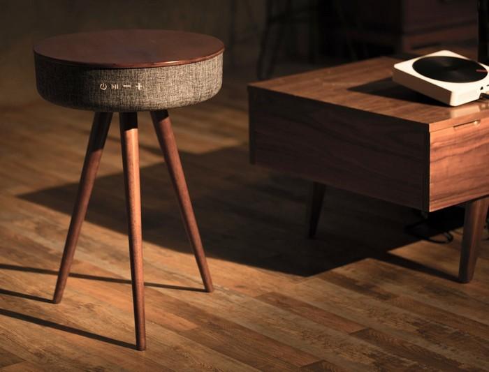The Mellow – кофейный стол и динамики со звучанием на 360 градусов по совместительству Управлять же