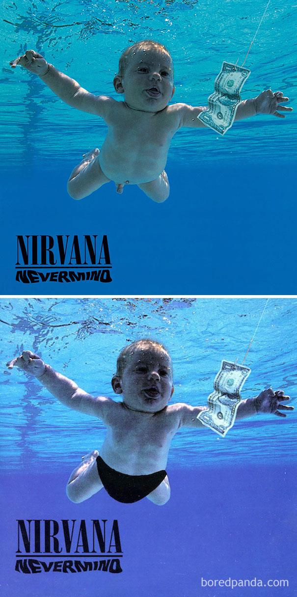 Альбом Nevermind группы Nirvana.