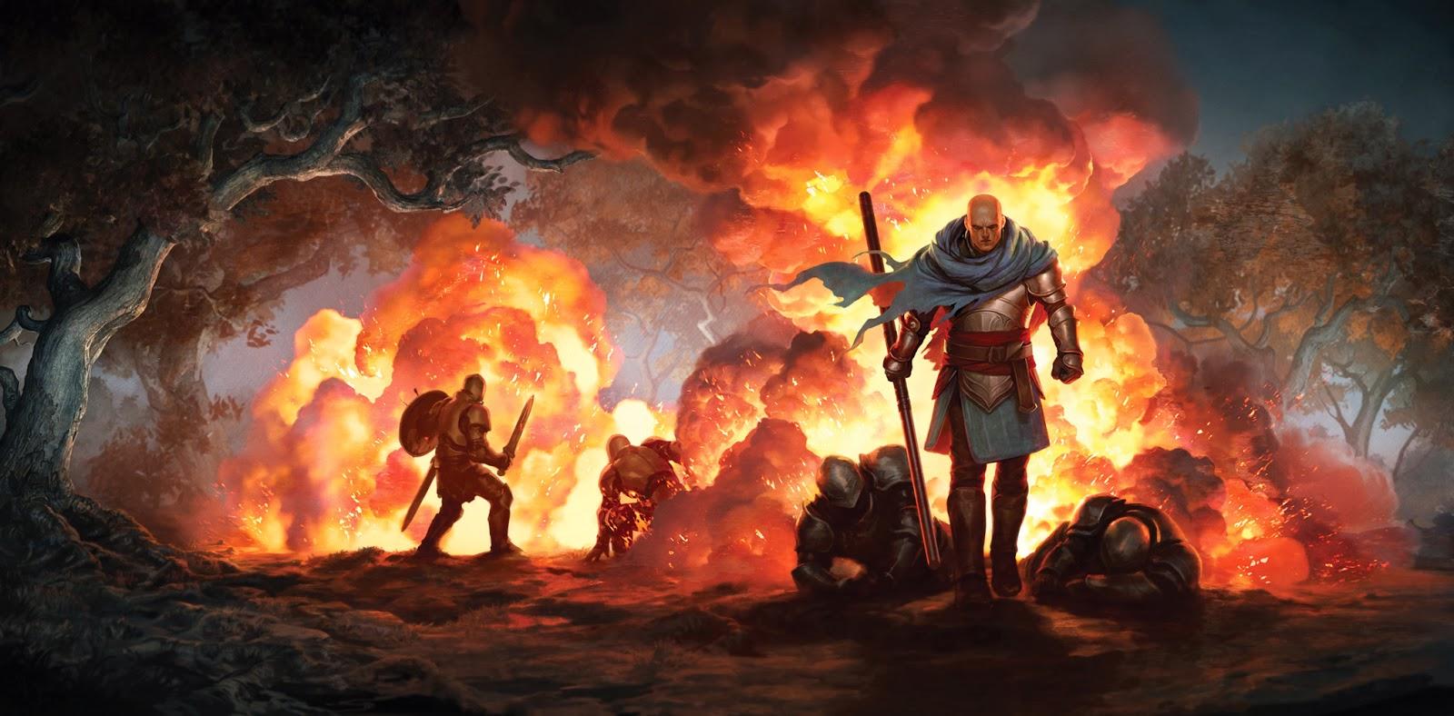 Огнём и мечом: иллюстрации Джейсона Чена (12 фото)