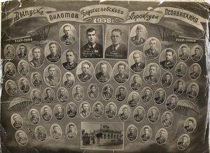 Выпуск пилотов Борисоглебского Аэроклуба Осоавиахима. 1938 г.