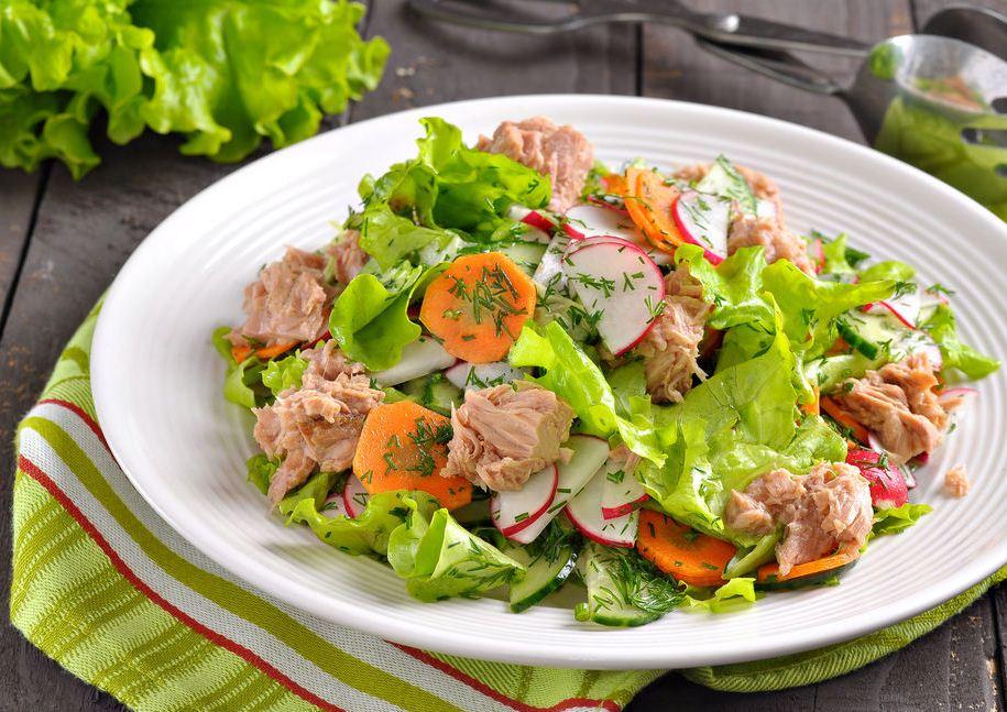 тунец салатный в масле рецепты с фото что