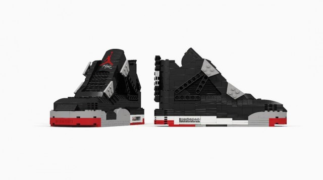 LEGO Nike Air Jordans 3D Modeled (5 pics)