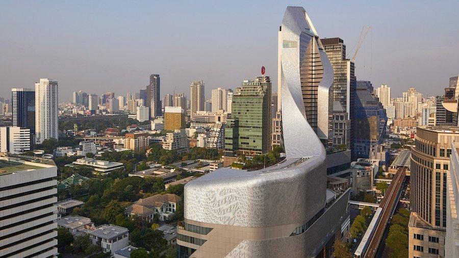 Dazzling Skycraper in Bangkok by AL_A