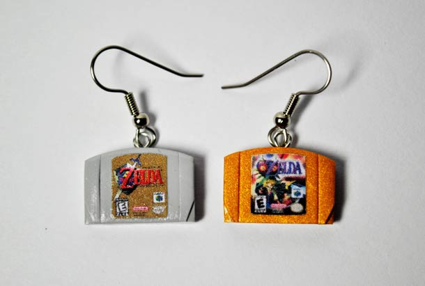 Ultra cute Retro-Gaming Jewelry for Geeky Girls
