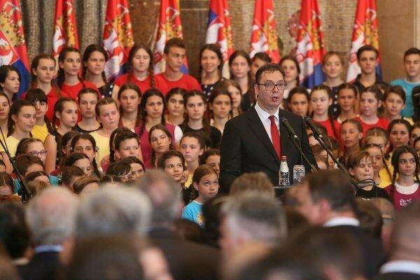 Сербия, президент, Александр Вучич, инаугурация, Белград