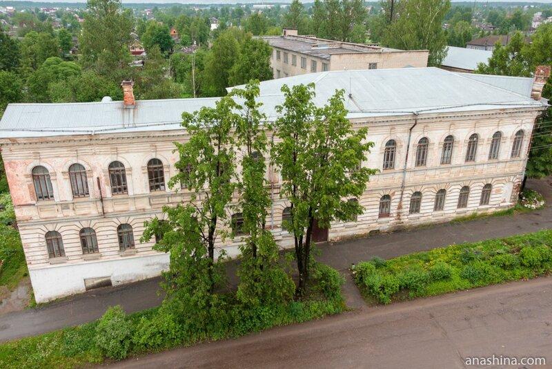 Здание Вытегорского политехнического техникума, Вытегра