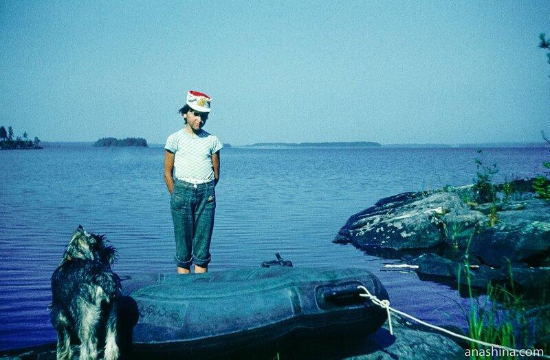 Надувная лодка, Онежское озеро