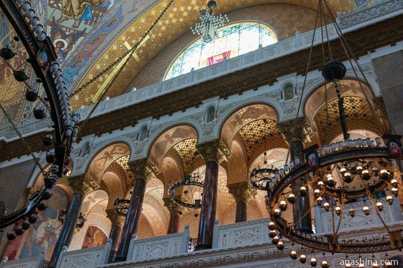 Внутреннее убранство Морского Никольского собора, Кронштадт