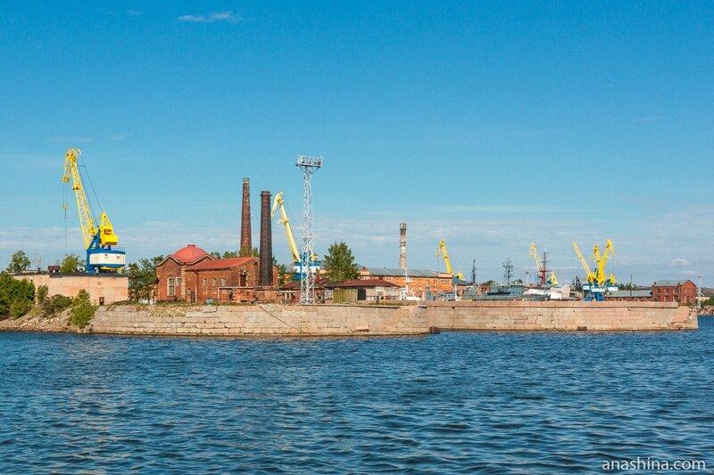 Кронштадтский морской завод, Кронштадт