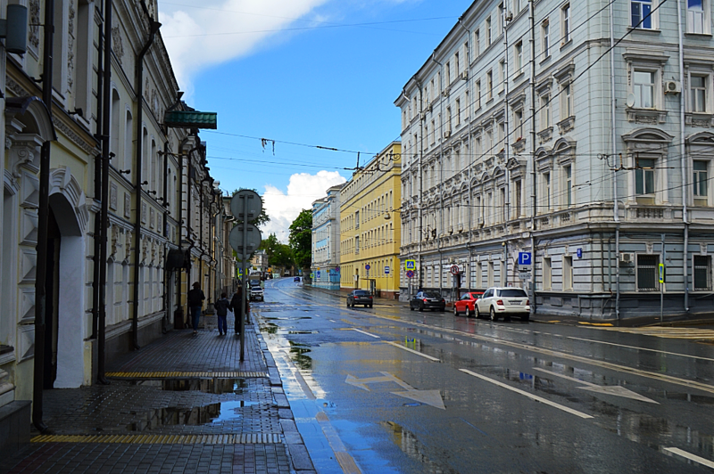 Москва, как она есть. Николоямская улица.