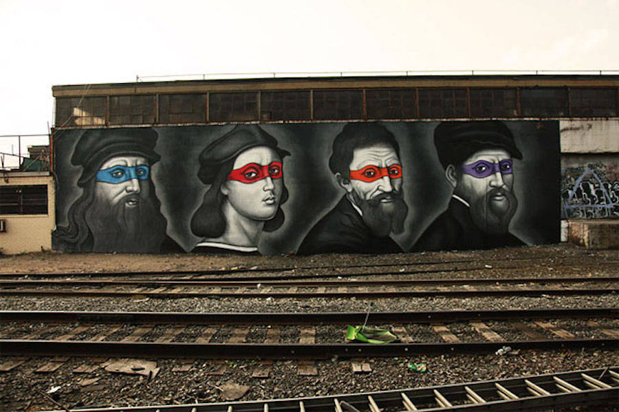 Teenage Mutant Ninja Turtles Renaissance Portraits