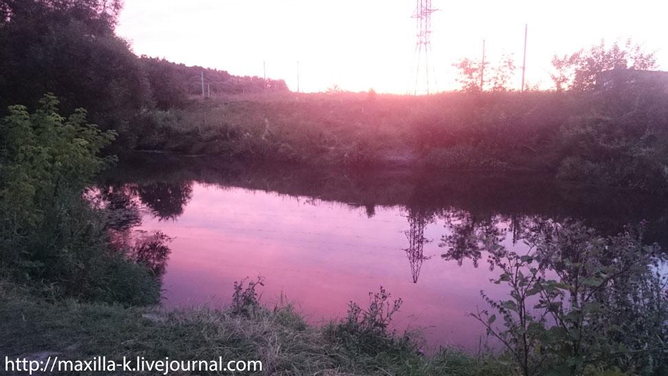 Закат на Пополте