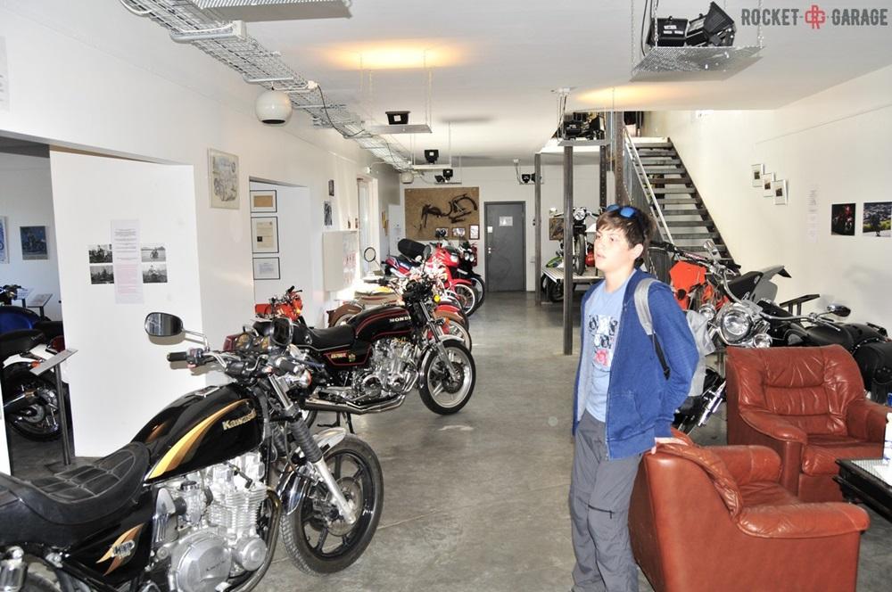 Мотомузей Motorhjolasafn в Исландии