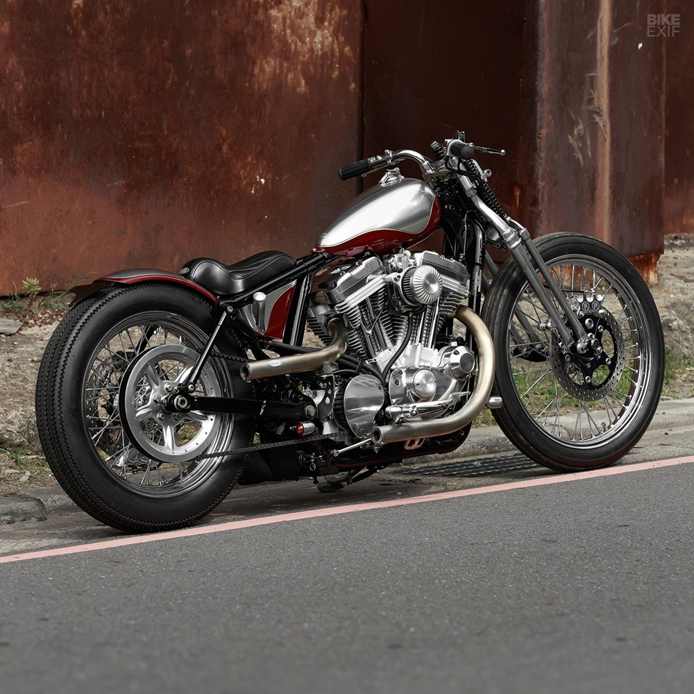 2LOUD Custom: боббер Harley-Davidson Sportster XL883 Custom 2009