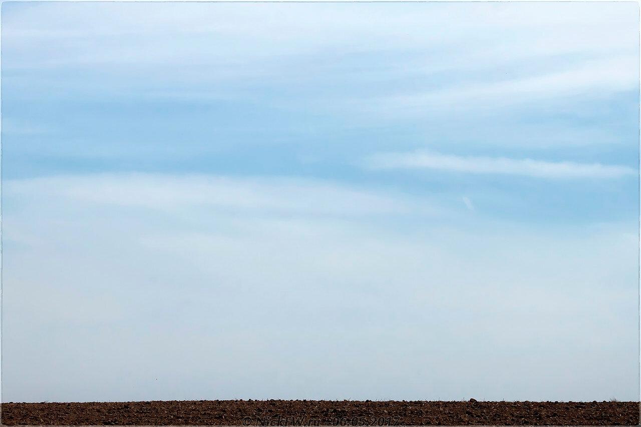 Утро небо пашня (© NickFW - 06.05.2017)