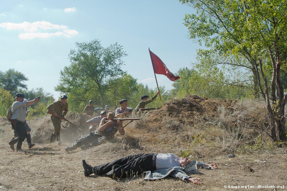 Подвиг бойцов в боях за Сталинградский тракторный завод
