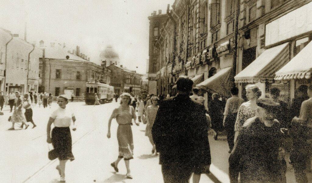 15856 1-й Зацепский проезд.jpg нач. 60-х От Зацепского Вала.jpg