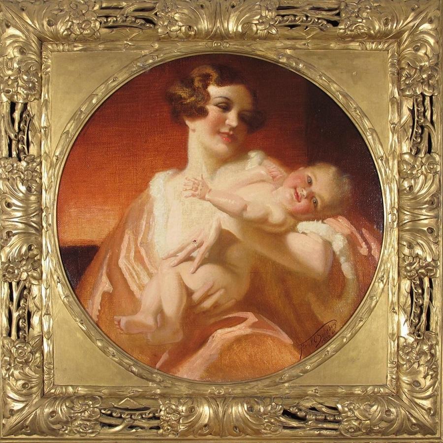 Радость материнства , 1934.Jpeg