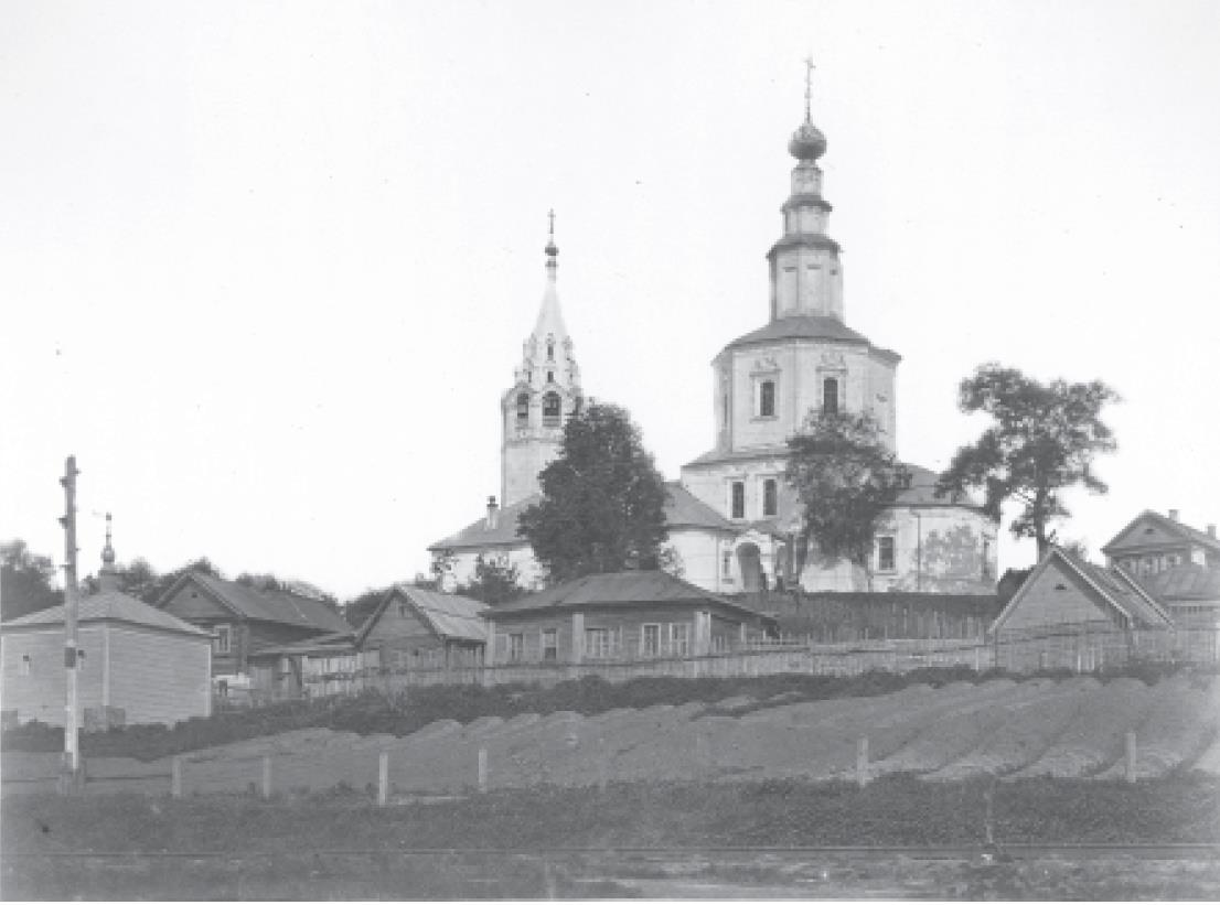 Николо-Галейская церковь. Вид с юга. Кукушкин В.Г. 1876-1881