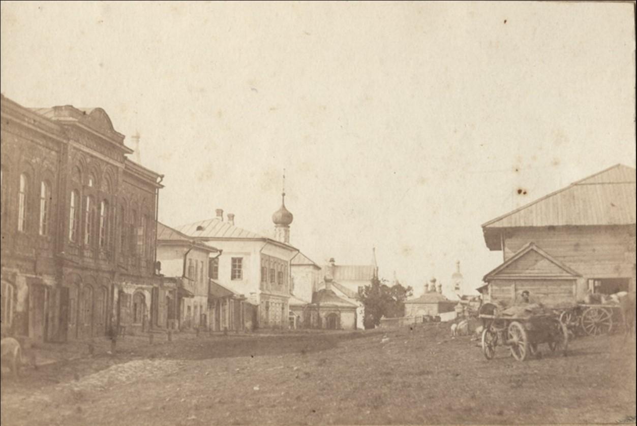 Пушкарская слобода. Вид города из-за Оки. 1900-е