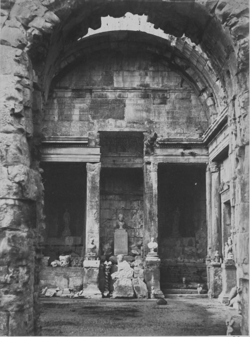 Ним. Храм Дианы. 1859