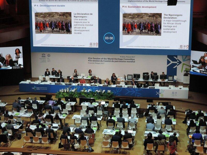 Комитет Всемирного наследия ЮНЕСКО на своей 41 сессии (фото: Дмитрий Шевченко)