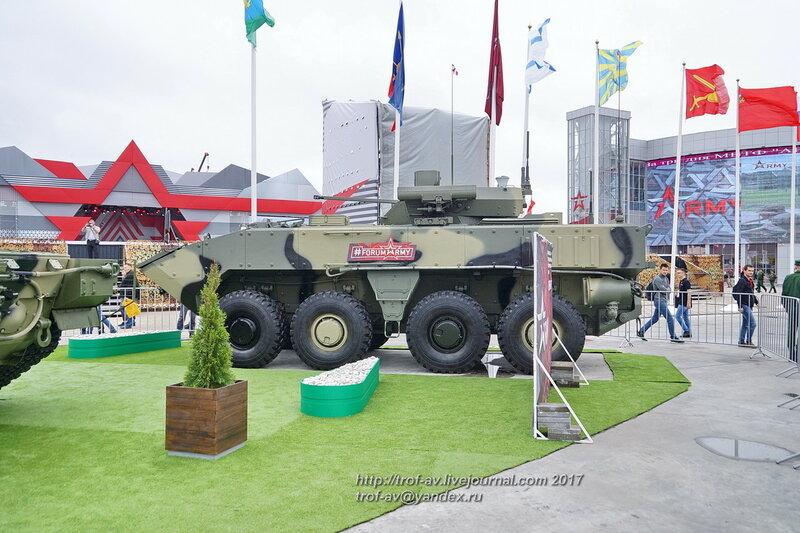 БМП Бумеранг на форуме Армия-2017 в парке Патриот