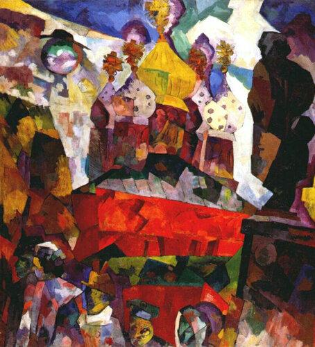 Тверской бульвар, 1917 год